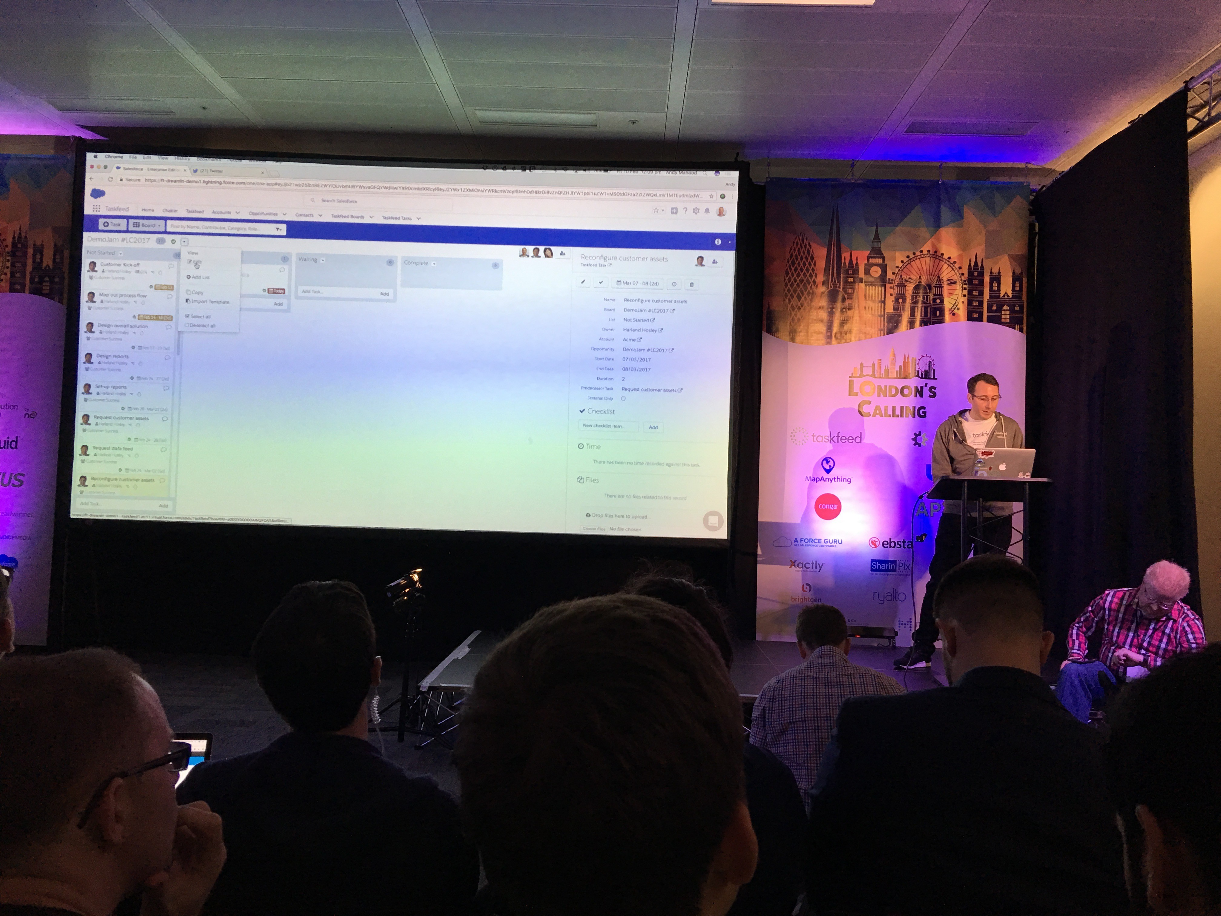 CloudShift attends Salesforce Community event, London's Calling