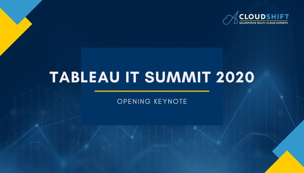 tableau IT summit keynote
